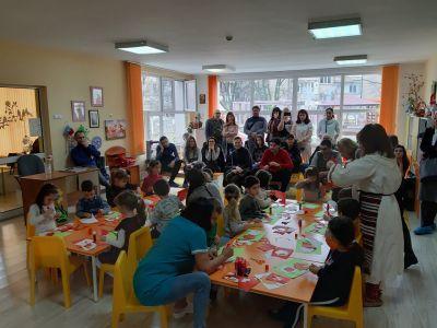 Създаваме мартенички - ДГ 133 Зорница - София, Изгрев